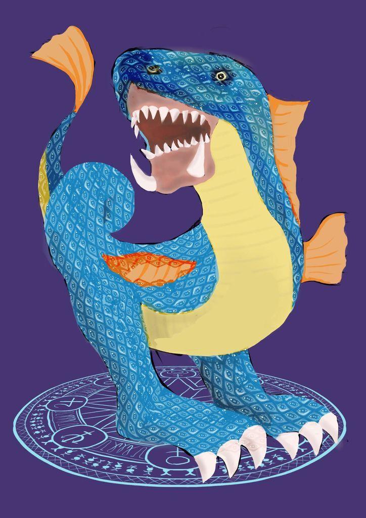 神奇守護幻獸-召喚魔法生物-邪惡的魔蛇(魔系)-邱敬驊.jpg