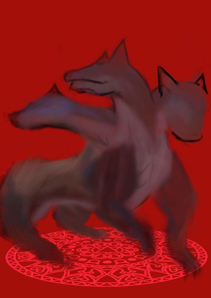 神奇守護幻獸-召喚魔法生物-刻耳柏洛斯Cerberus_呂哲賢.jpg