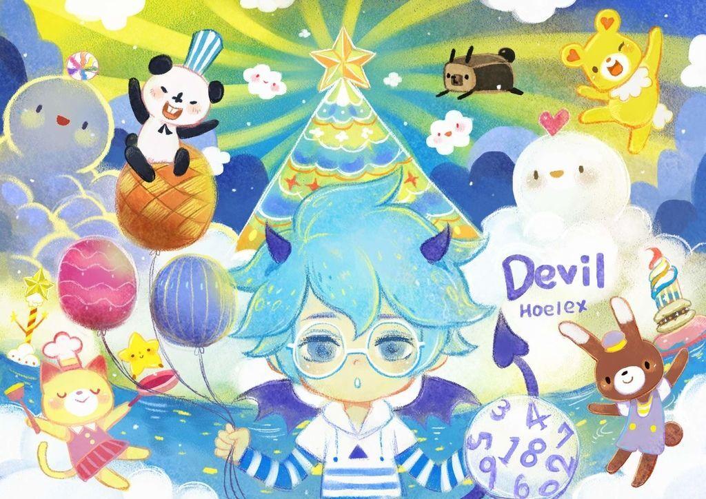 插畫繪本風-Devil白果藍-藍莓數字球-hoelex14.jpg
