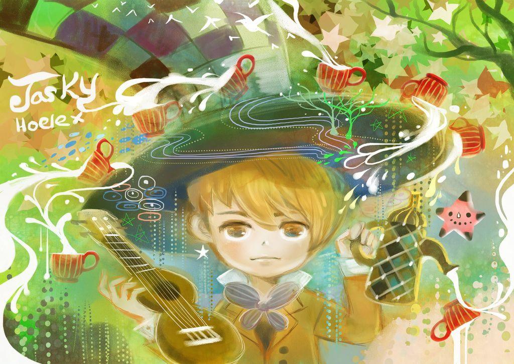 插畫繪本風-JaskY杰星克的吉他咖啡宇宙-Hoelex12.jpg
