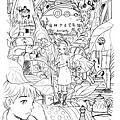 吉卜力動畫手稿展/插畫二創繪 By Hoelex浩理斯