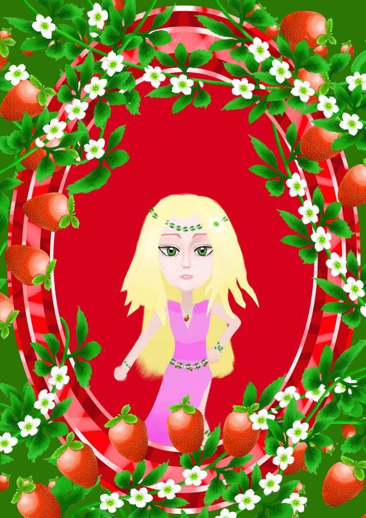 ★【水果果醬畫框Confiture系列】草莓strawberry-吳子權.jpg