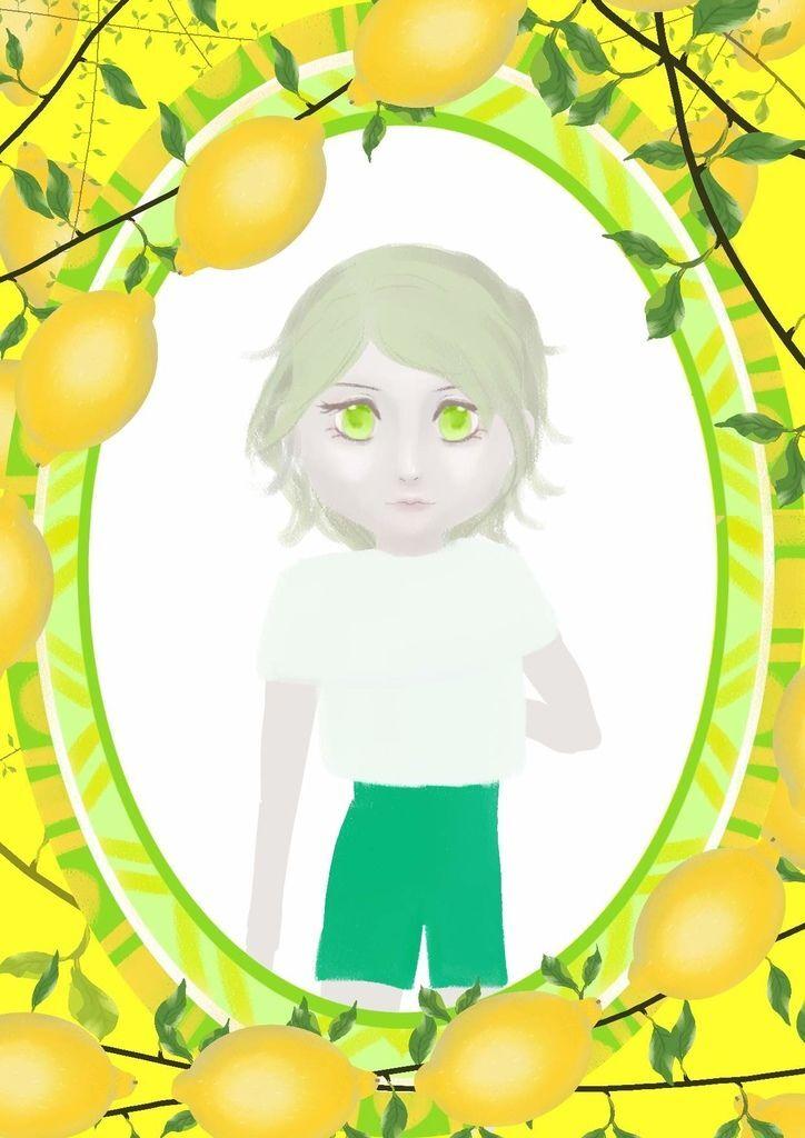 ★【水果果醬畫框Confiture系列】檸檬lemon-曾玉蒨.jpg