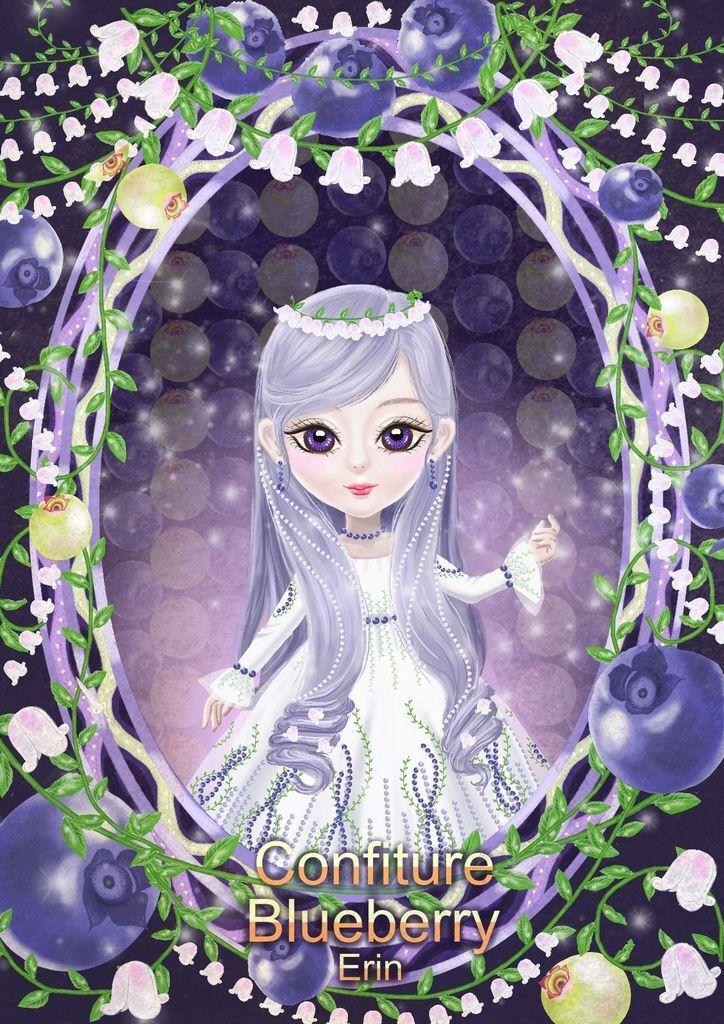 ★【水果果醬畫框Confiture系列】藍莓blueberry-楊瑞苓.jpg