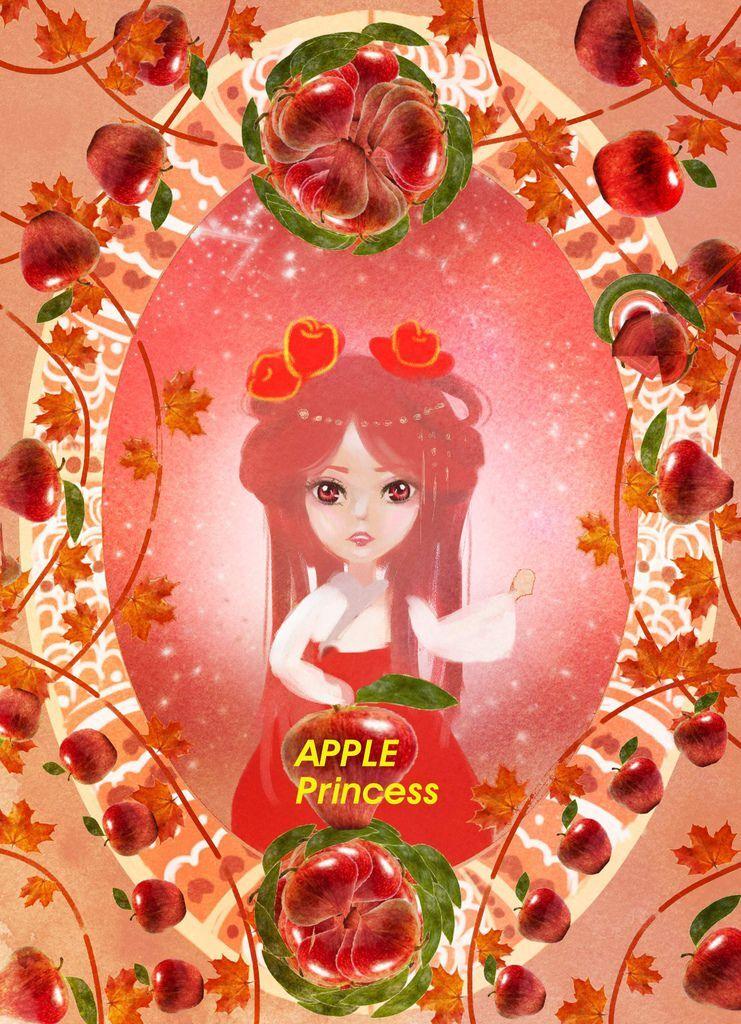 ★【水果果醬畫框Confiture系列】蘋果-呂沛蓉2.jpg