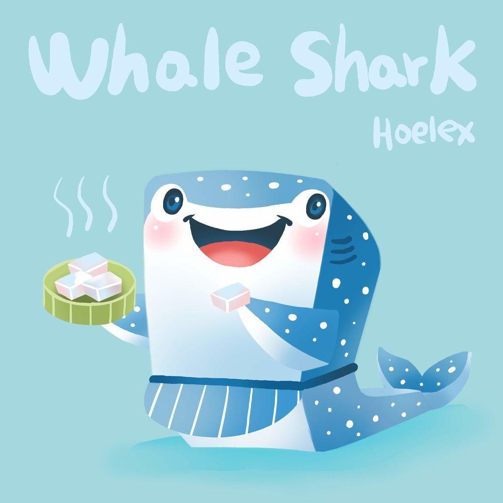 DODO ZOO 方塊動物-Whale Shark 豆腐鯊師傅-hoelex.jpg