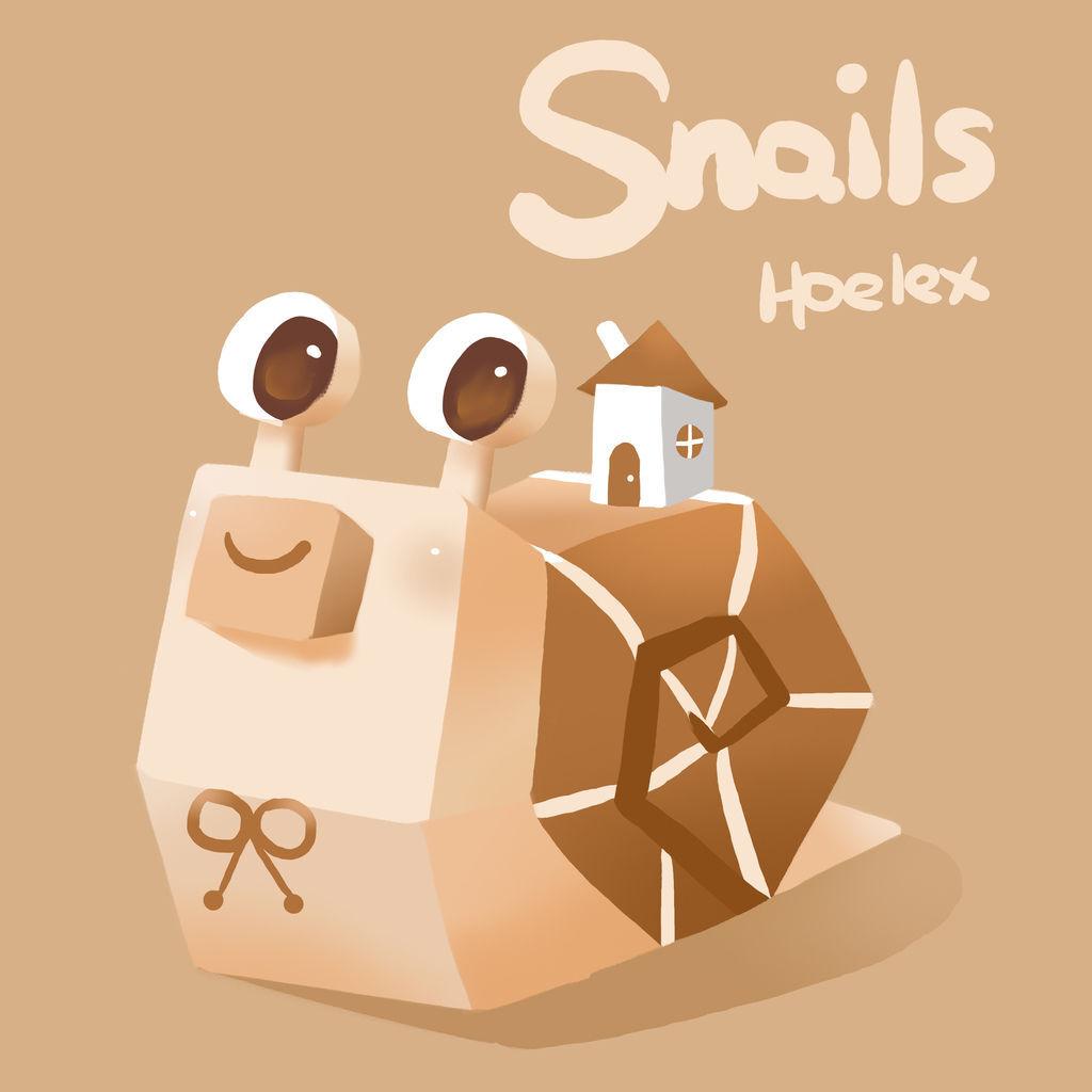 DODO ZOO 方塊動物-蝸牛房屋員Snails-hoelex.jpg