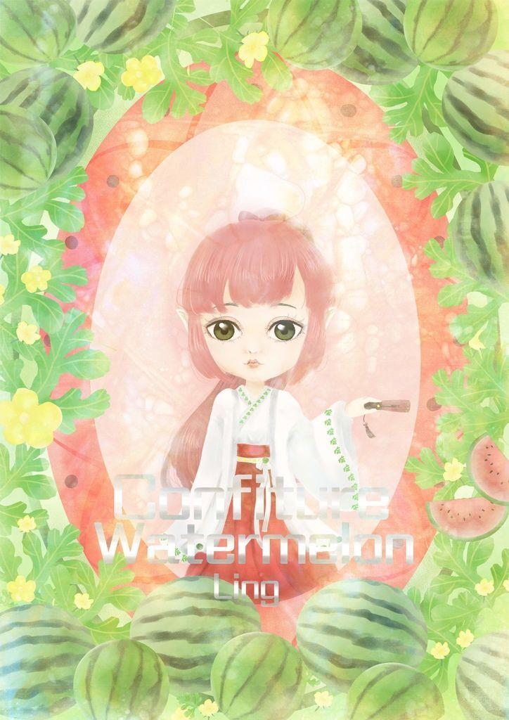 ★【水果果醬畫框Confiture系列】西瓜watermelon-洪菱憶.jpg