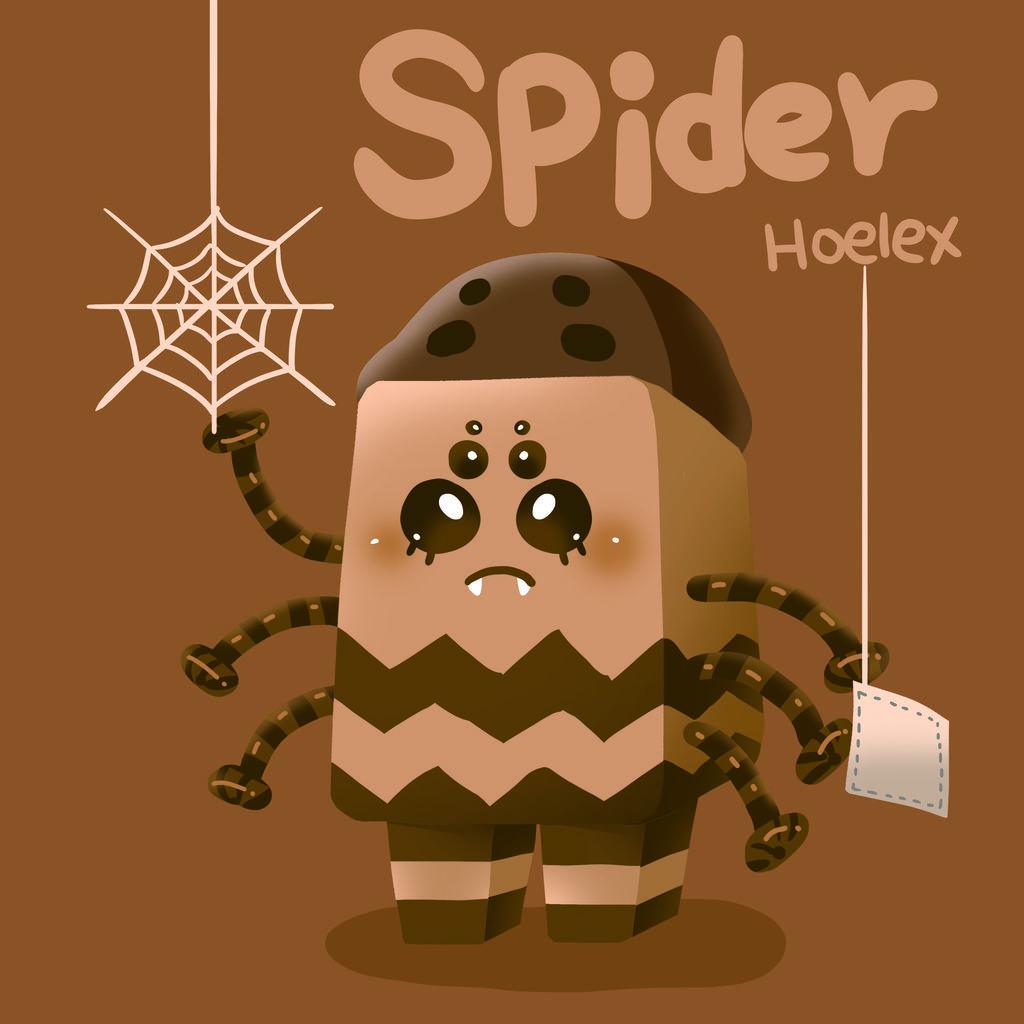 DODO ZOO 方塊動物-蜘蛛洗窗俠Spider-hoelex.jpg