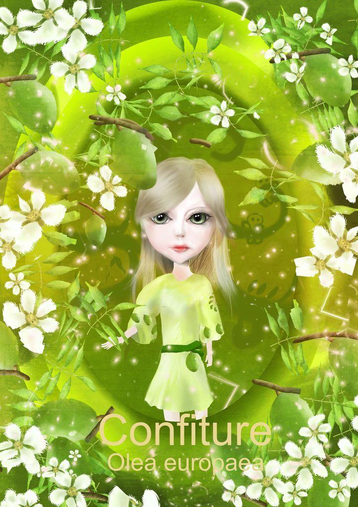 ★【水果果醬畫框Confiture系列】橄欖Olive-高偉嘉.jpg