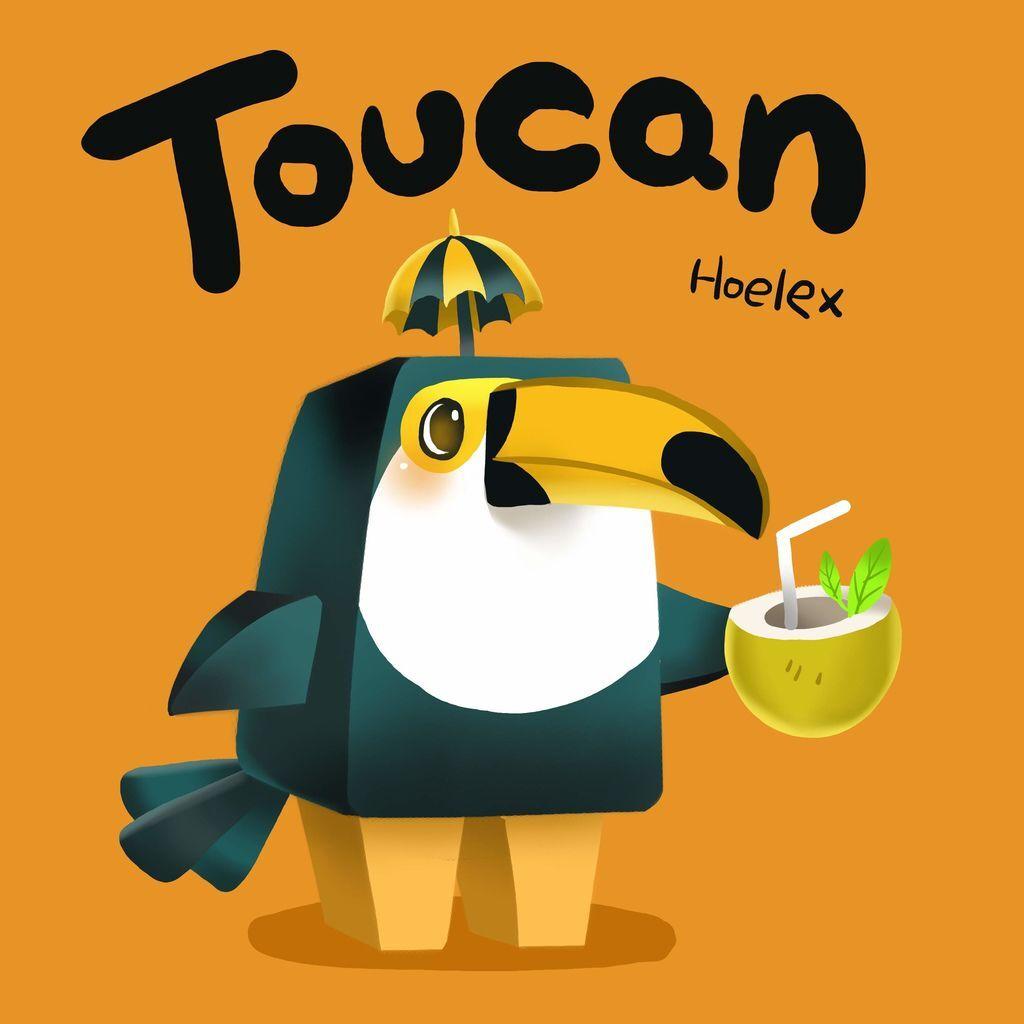 DODO ZOO 方塊動物-Toucan 大嘴鳥椰子先生-hoelex.jpg
