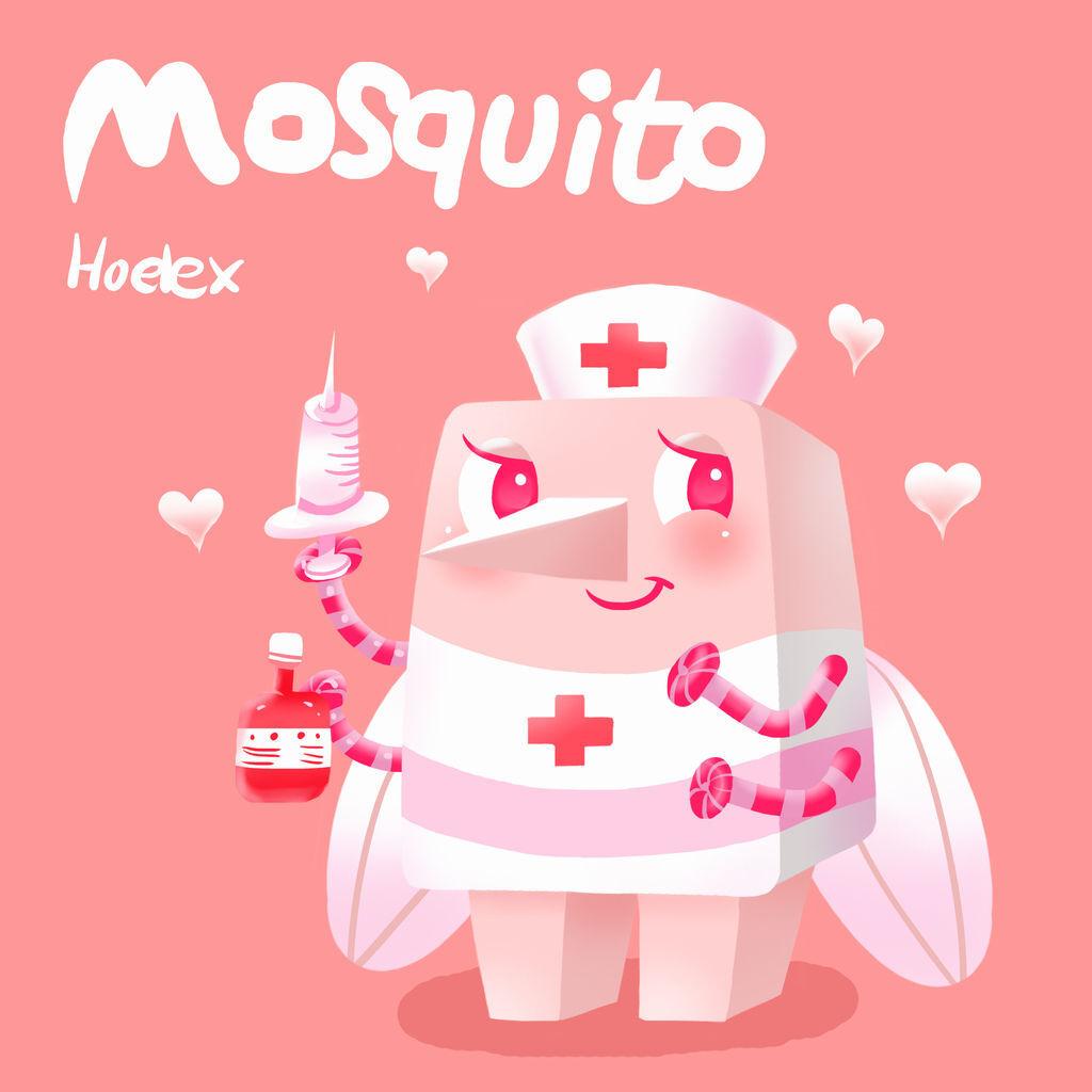 DODO ZOO方塊動物-Mosquito蚊子小護士-hoelex.jpg