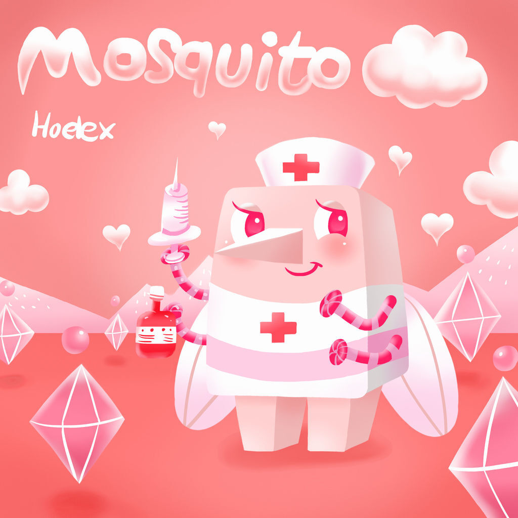 DODO ZOO方塊動物-Mosquito蚊子小護士-hoelex(背景).jpg