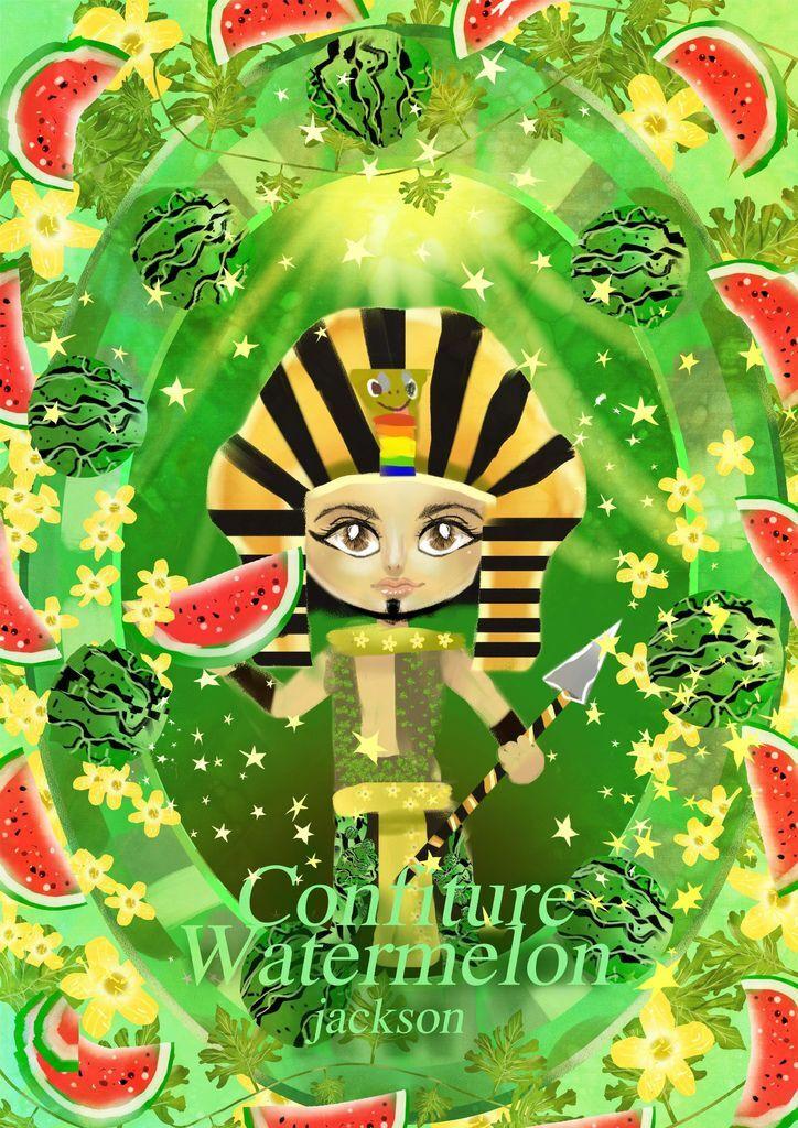 ★【水果果醬畫框Confiture系列】西瓜watermelon-陳裕棠.jpg