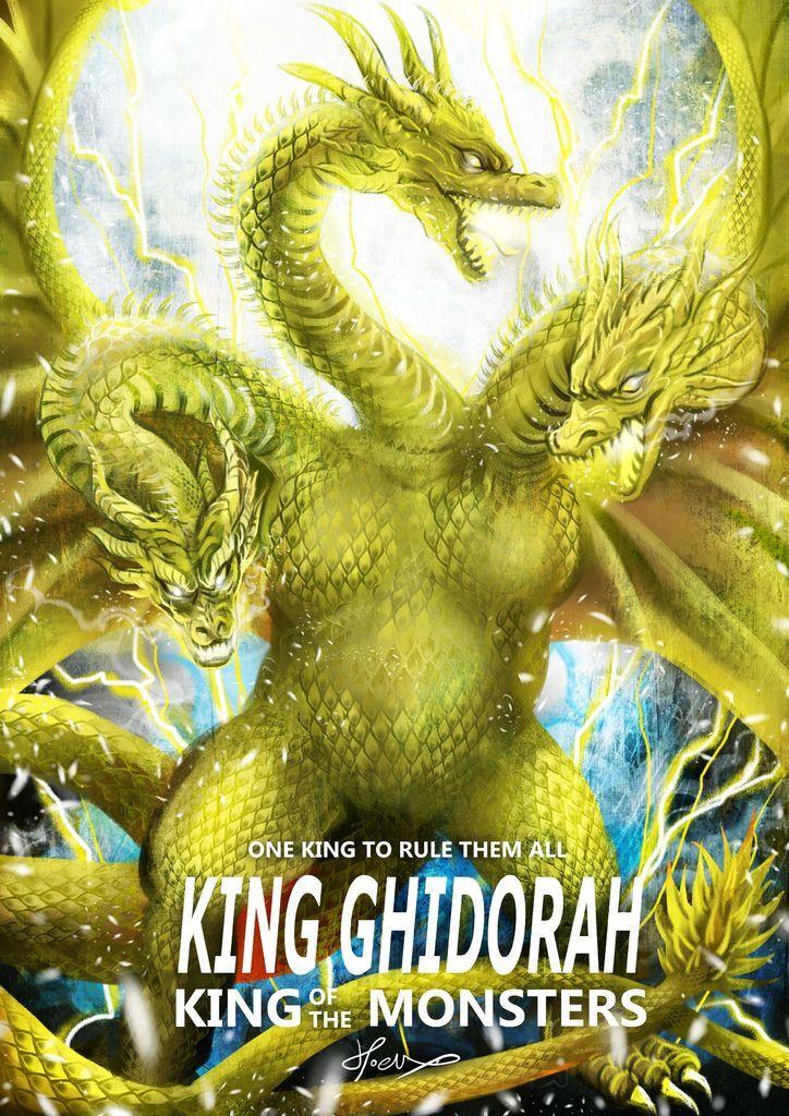 神奇守護幻獸-哥吉拉ゴジラGodzilla-王者基多拉 King Ghidorah-hoelex21.jpg