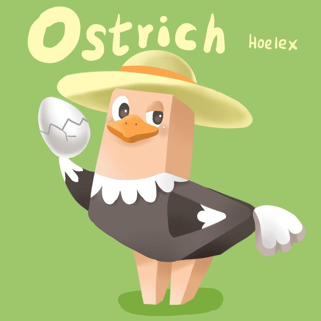 DODO ZOO方塊動物-Ostrich鴕鳥孵化員-hoelex.jpg