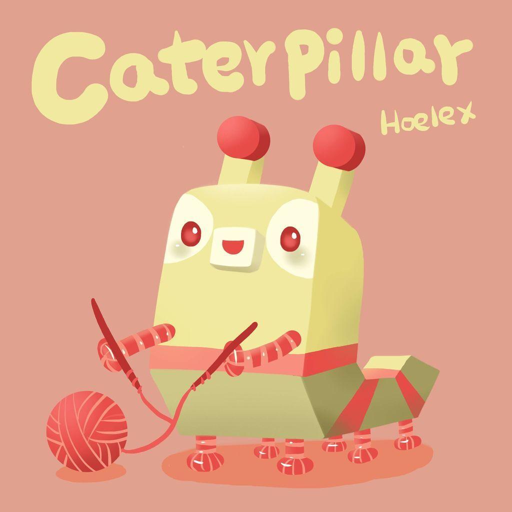 DODO ZOO 方塊動物-Caterpillar毛毛蟲打毛線-hoelex..jpg