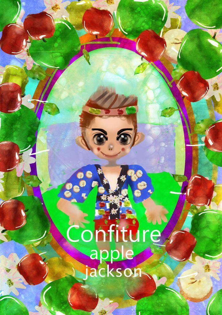 ★【水果果醬畫框Confiture系列】蘋果APPLE-陳裕棠.jpg