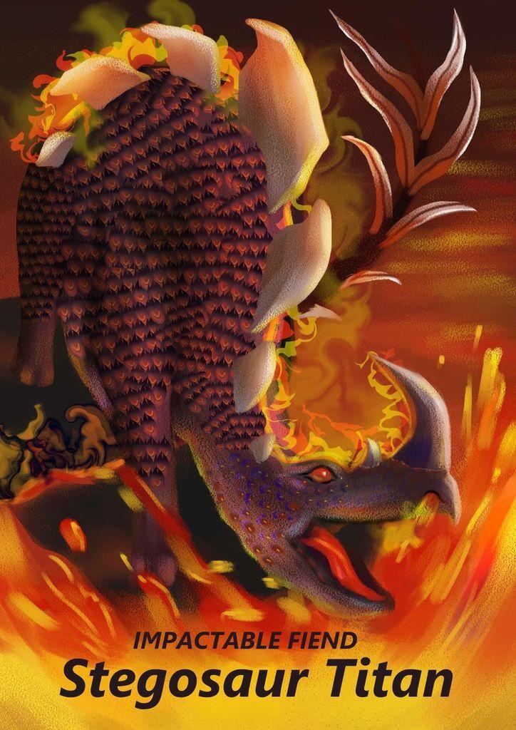 神奇守護幻獸-【Evil world dragon魔龍世界】- 劍龍泰坦 Stegosaur Titan-湯茜茹.jpg