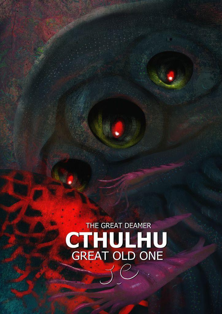 神奇守護幻獸-洛夫克拉夫特Lovecraft-克蘇魯Cthulhu-曾郁仁.jpg