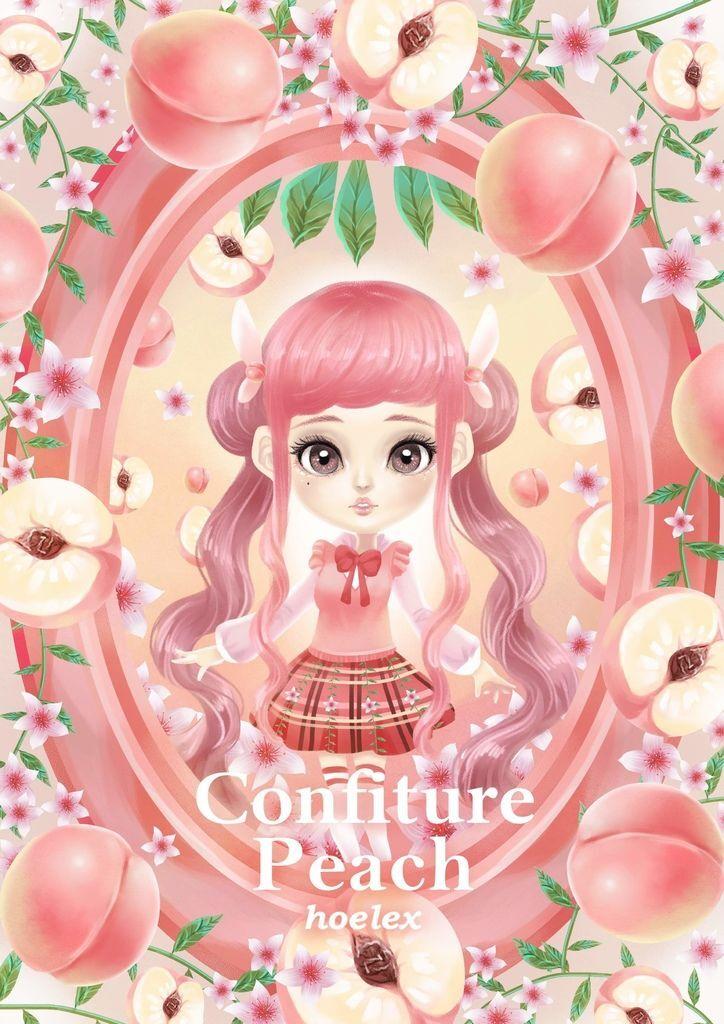★【水果果醬畫框Confiture系列】水蜜桃Peach-hoelex(人物版).jpg