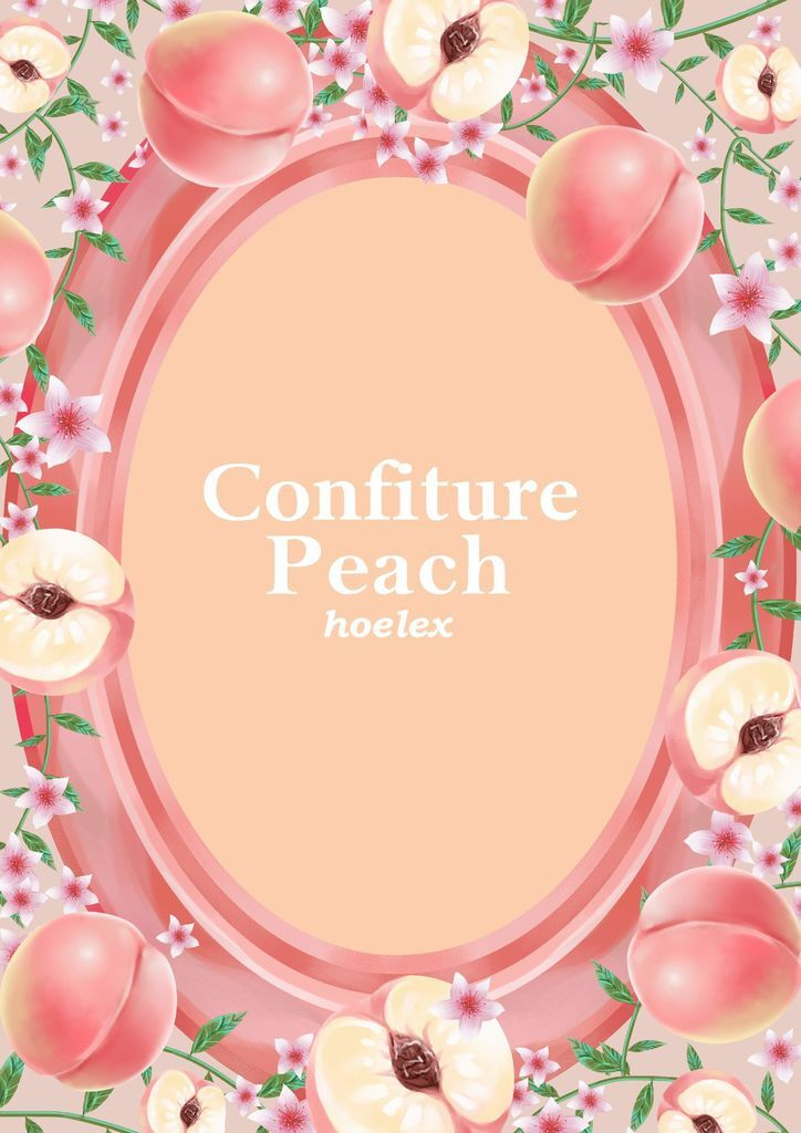 ★【水果果醬畫框Confiture系列】水蜜桃Peach-hoelex.jpg