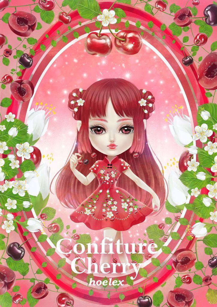 ★【水果果醬框Confiture系列】櫻桃Cherry-hoelex.jpg