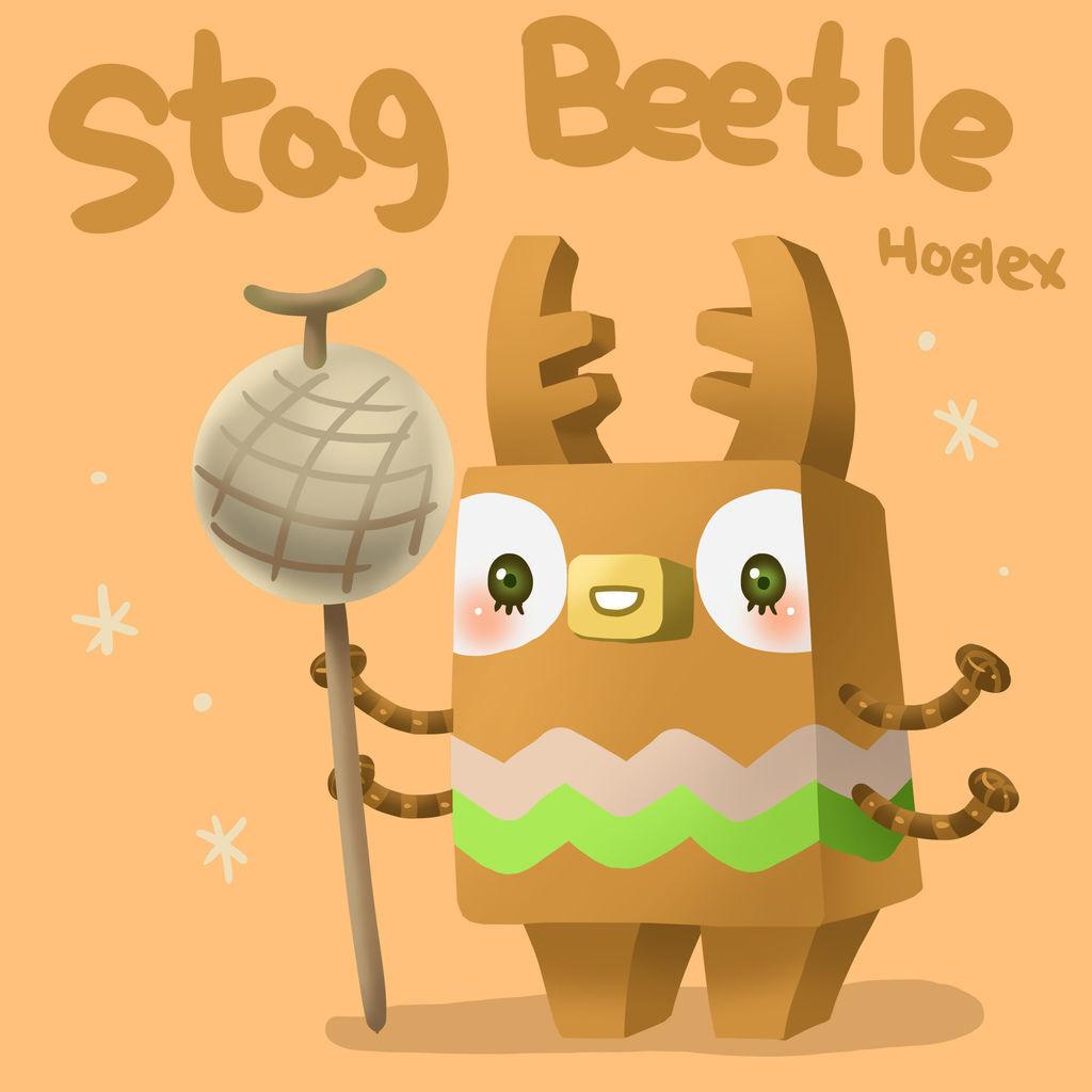 DODO ZOO 方塊動物-Stag Beetle鍬形蟲哈密瓜-hoelex.jpg