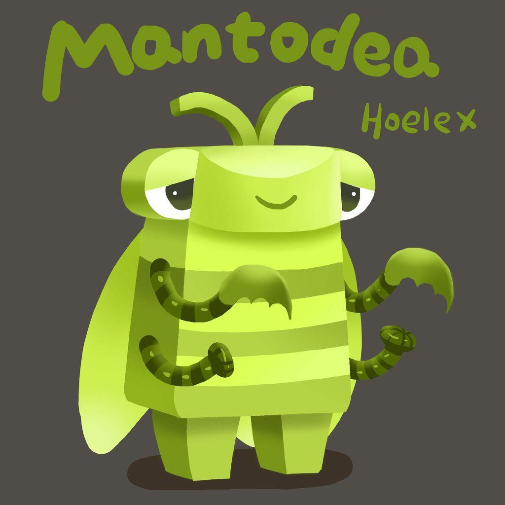 DODO ZOO 方塊動物-Mantodea螳螂鐮刀手-hoelex.jpg