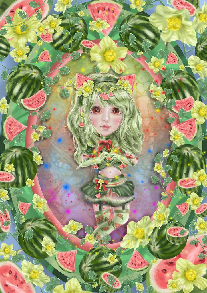 ★【水果果醬畫框Confiture系列】西瓜watermelon-林世昕.jpg