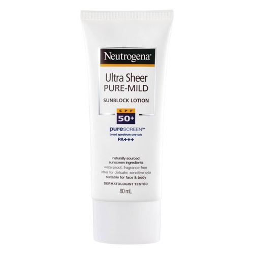 露得清溫和全護防曬乳80g SPF50