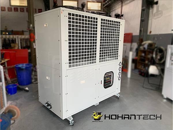 15RT氣冷式工業用冰水機(雙機) (3)