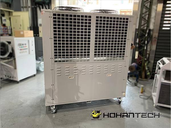 15RT氣冷式工業用冰水機(雙機) (2)