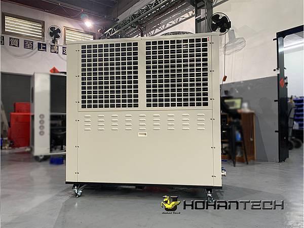 10RT氣冷式工業用冷卻機 (2)