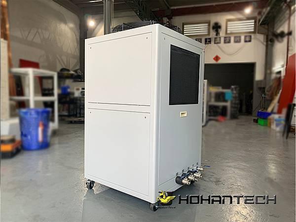7.5RT氣冷式工業用冷卻機 (1)