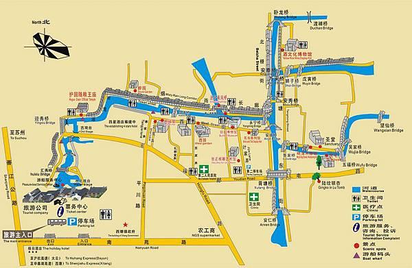 西塘古鎮地圖
