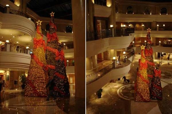 君悅酒店聖誕樹