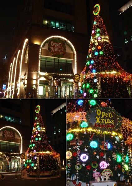 7-11 OPEN將聖誕樹