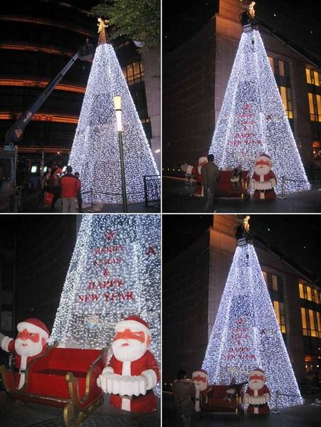 京華城聖誕樹