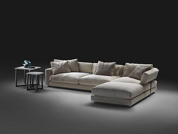 Flexform sofa-Pleasure-2
