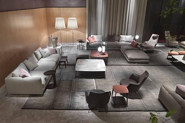 Flexform sofa-Pleasure-7