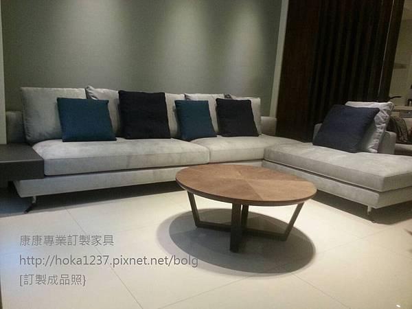 康康專業訂製家具-成品-MW款_L型布沙發寬330長230cm-1