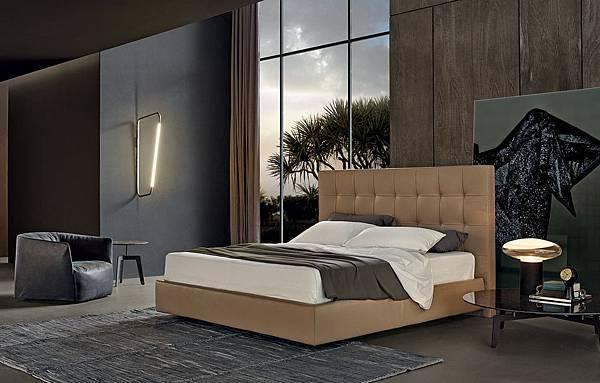 Poliform bed-Arca-1