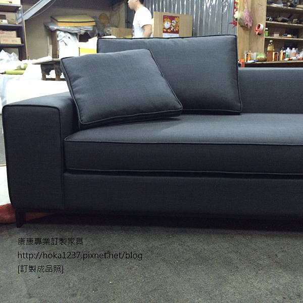 康康專業訂製家具-成品-ML款-布沙發寬239cm-3