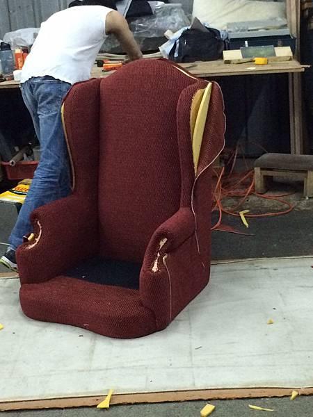 康康專業訂製家具-半成品-主人椅-4