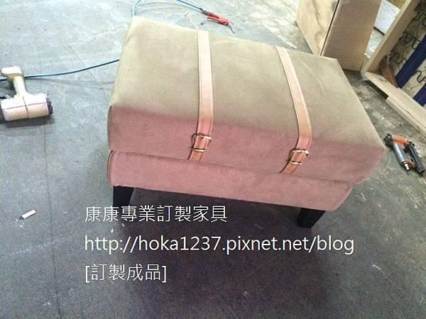 康康專業訂製-成品-椅凳with皮帶-1