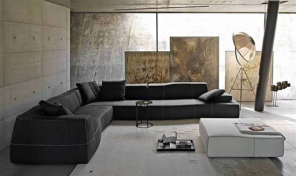 B&B Italia sofa-BEND-1
