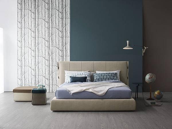 Bonaldo bed Cuff-06