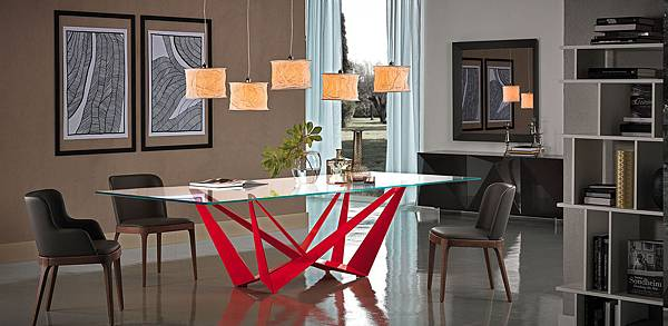 Cattelan Italia Table-FIXED SKORPIO-4