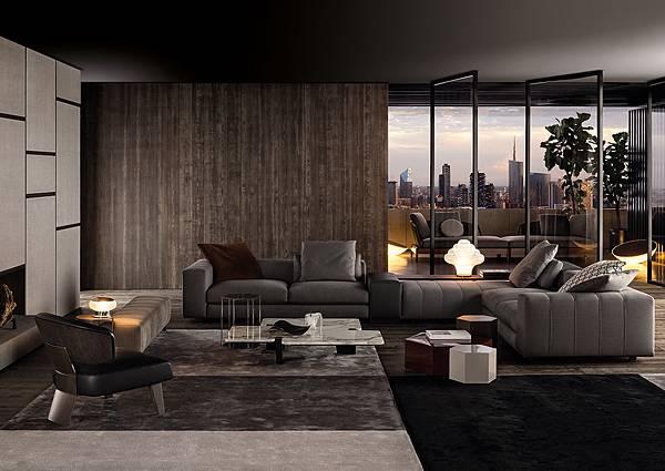 品味沙發 款型推薦 Minotti Freeman 康康專業訂製家具 沙發 痞客邦